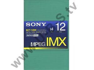 MPEG IMX Kassette Sony BCT-12MX NEU