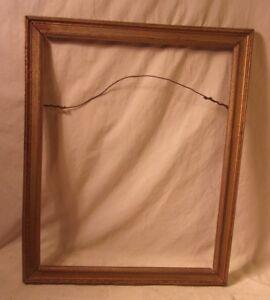 "Picture Frames Antique Deco Frame 18 3/4 X 20 1/2 Holds 16x20 Molding 1 1/2"" Decorative Arts Save 50-70%"