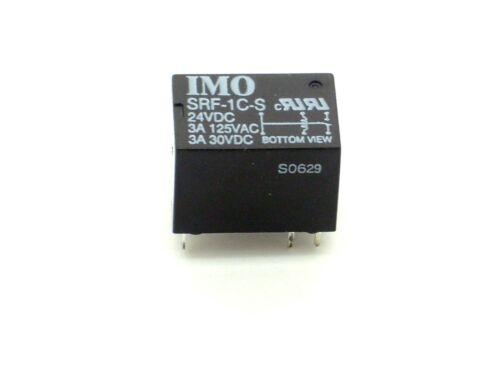 Miniatur,Klein,Mini 1x Relais IMO SRF-1C-S 125V~//3A,30V-//3A 24V- 2R26 1x UM
