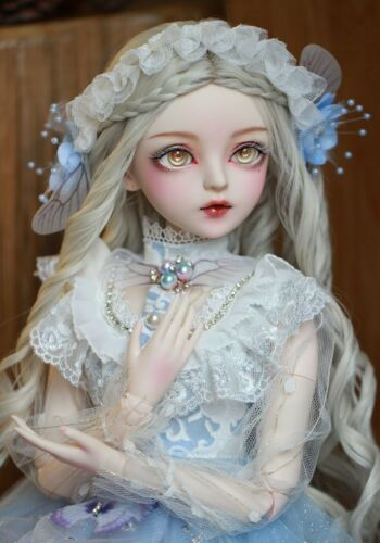 Clothes BJD 1//3 Ball Jointed Doll Gift Full Set Handpainted Makeup Princess