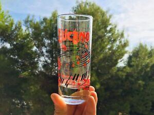 SET-6-BICCHIERI-AMARO-LUCANO-ORIG-1990-CONDIZIONI-PERFETTE-GLASS-VERRE