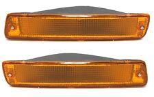 Toyota Land Cruiser HDJ 80 front signal indicators PAIR (LH+RH) Amber