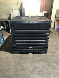 330 Gallon Collapsible IBC Liquid Shipper With Lids Good Condition Min. Order-10