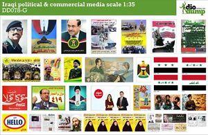 DioDump-DD078-G-Iraq-political-amp-commercial-media-posters-1-35-scale-diorama