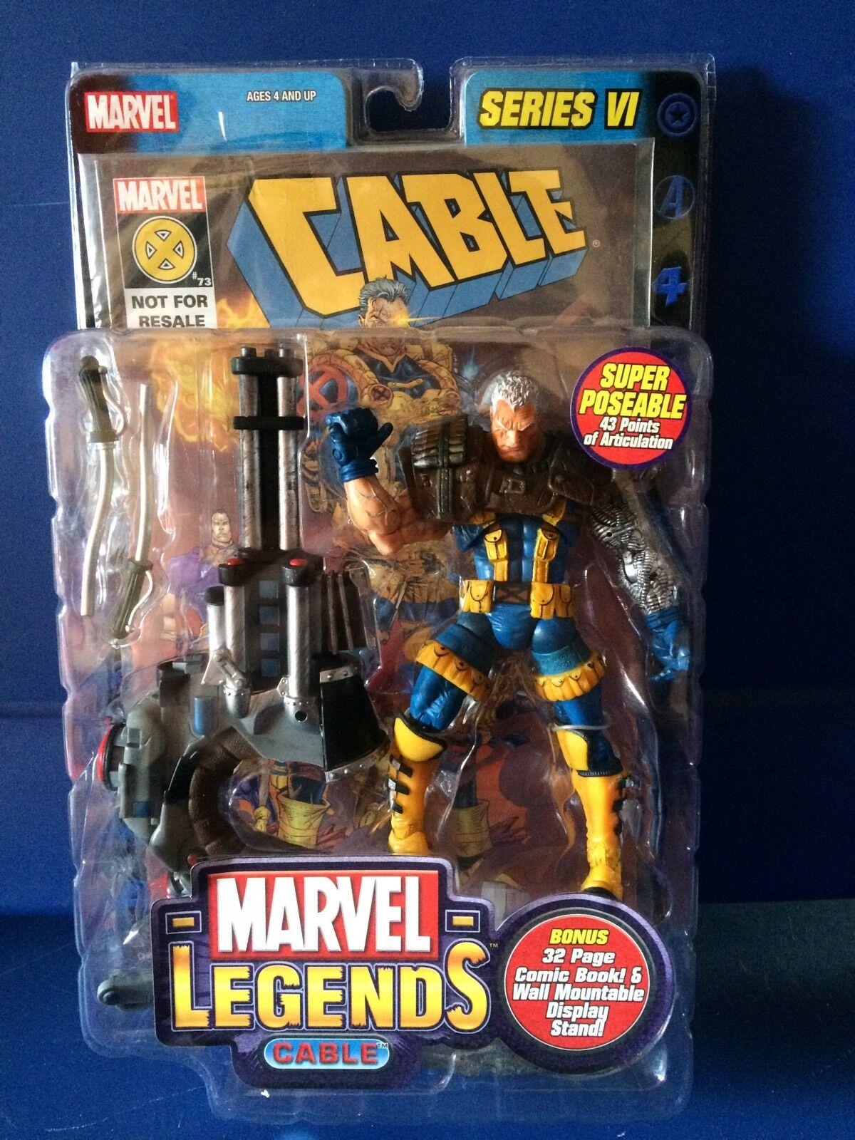 Marvel Legends Cable Series VI