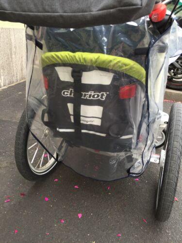 Chariot Cougar 1 Regenverdeck Raincover Regenhülle Wind u Regenschutz Thule