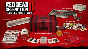 Red-Dead-Redemption-2-Collector-039-s-edition-Box-No-Game-PS4-XBOX-ONE-New-Sealed