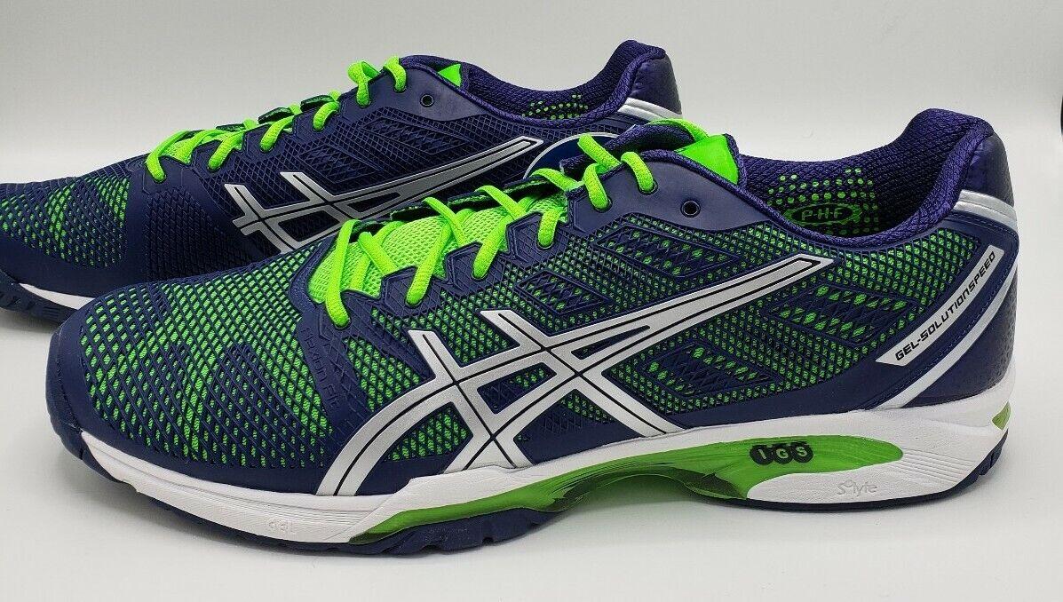 asics gel solution speed 3 clay mens tennis shoe 07