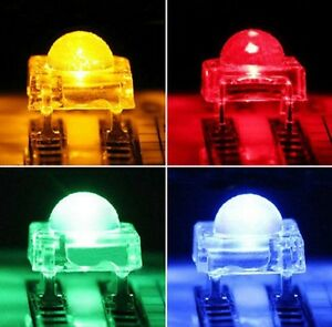 5mm-F5-Piranha-LED-Red-Green-Yellow-Blue-White-Round-Head-Super-Bright-Light-NEW