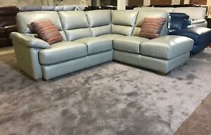 Stupendous Details About Fabb Sofas Axle Corner Sofa Pewter Grey Leather Lhf Arm Chaise End 4 5 Seater Pdpeps Interior Chair Design Pdpepsorg