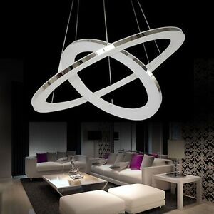 Modern Ring Nature Acrylic LED DIY Ceiling Pendant Lamp