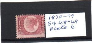 GB-Victoria-1870-1879-SG-48-49-Rose-Mint-Plate-6