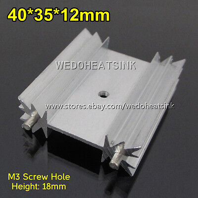 4pcs 40x35x12mm Heatsink Cooler Aluminum Heat Sink