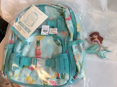 Pottery Barn Set Pre K Mermaid Mini Backpack Disney