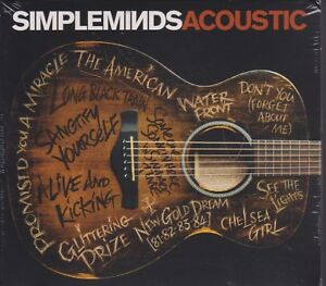 SIMPLE MINDS Acoustic sealed carton sleeve