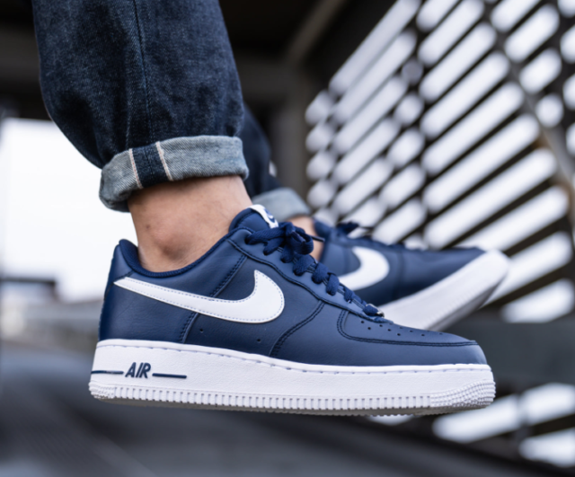 Women S Nike Air Force 1 Low Upstep Br Shoes Blue Sz8 For Sale