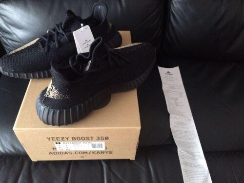 Size 350 Yeezy e 2016 6 Green 8 V2 Boost Uk 9 New Black Adidas n8p5xrt7n