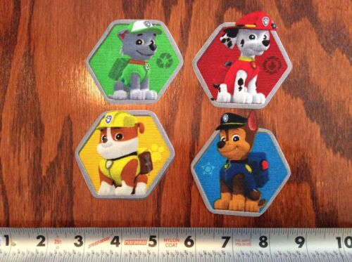 Nickelodeon Paw Patrol Fabric Iron On Appliques So CUTE!