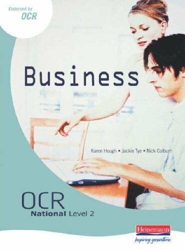 OCR National Level 2 in Business Student Book: Student Book By Ms Karen Hough,