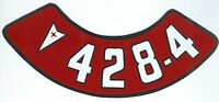 Pontiac 428-4v Air Cleaner Decal