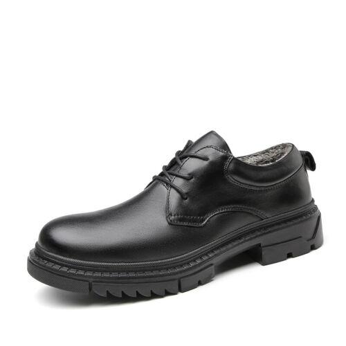 Winter Herrenschuhe Business-Schuhe Schnürer Warmfutter Outdoor Wanderstiefel L