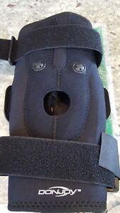 d8d85508b6 DonJoy Drytex Hinged Air Knee Brace, size Large, black, Perfect ...