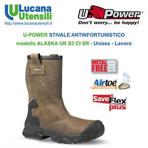 comprare a buon mercato migliori prezzi vendita outlet U-POWER STIVALE ANTINFORTUNISTICO ALASKA UK S3 CI SRC Unisex ...