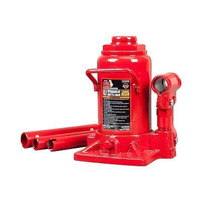 Torin Big Red Hydraulic Bottle Jack 10 Ton Capacity