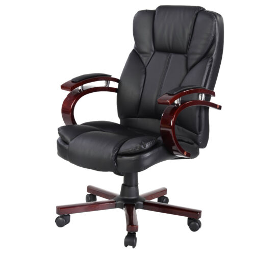 Ergonomic Desk Task fice Chair High Back Executive puter New Style Black