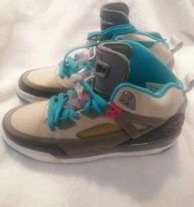 3d1fba72df3 Details about -Air-Jordan Spizike # 317321-063 GS Miami Vice 2009 Youth  Size 7Y Shoes