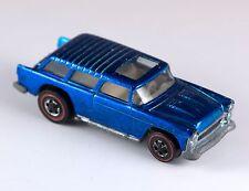 Vintage Hot Wheels Redlines Classic Nomad Blue 1970