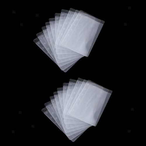 Glasklar 6-Löchern 20x A7 Prospekthüllen Klarsichthüllen