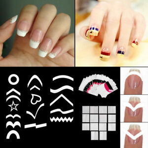 Image Is Loading Lot Diy Nail Art Guide Tips Hollow Stencils