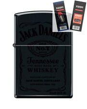Zippo 1512 Jack Daniels Old #7 Lighter with *FLINT & WICK GIFT SET*