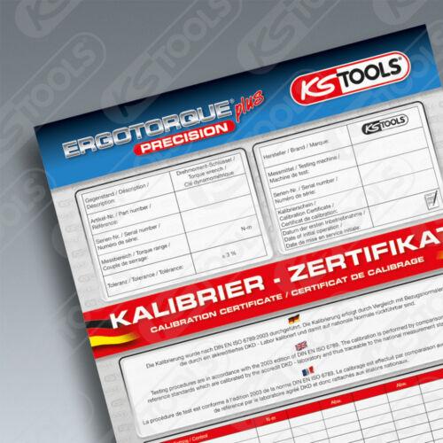 "KS TOOLS 1//4/"" ERGOTORQUE®precision Ratschen-Drehmomentschlüssel Drehknopf 1-25NM"