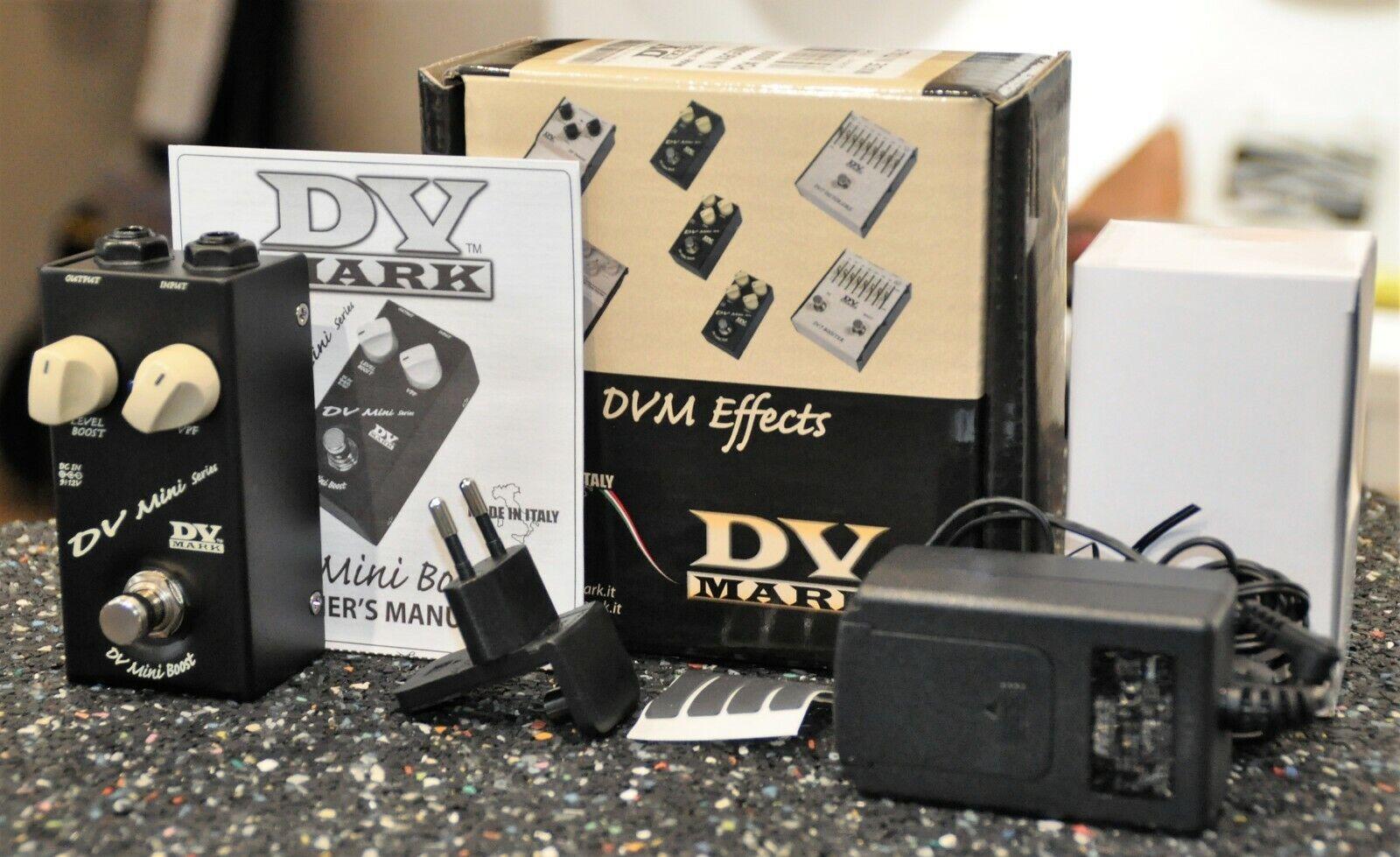 DV Mark DV Mini Boost Ultra Compact Pedal Boost & Preshape Filter -Made in