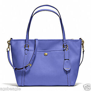 CRZYHeart-Coach-Bag-F25667-Peyton-Leather-Pocket-Tote-F25667-Blue-Agsbeagle
