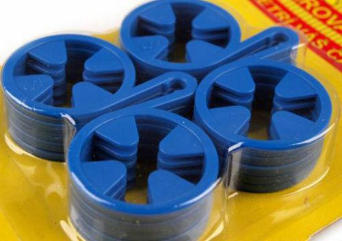 10 x Sockenhalter Sockenclips Sockensortierer Sockenklammer Wäscheklammer Socken
