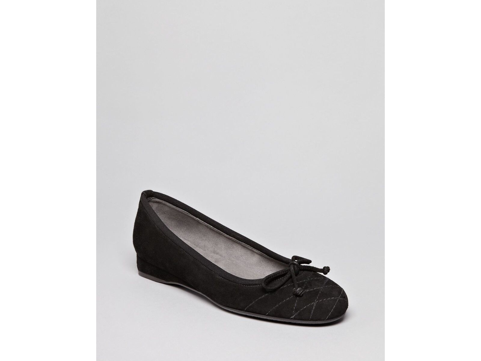 Stuart Weitzman Women's Ballet Flats Shoes Demiwedge Black 5.5M