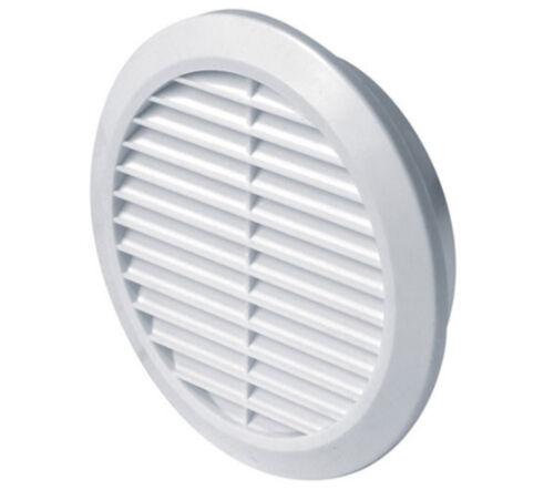 Cercle air vent grill cover 125mm gaine de ventilation blanc couverture Z 20