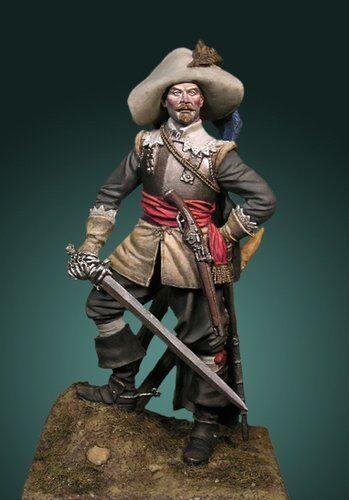 Best Soldiers The Mercenary 75mm Model Unpainted Metal Kit