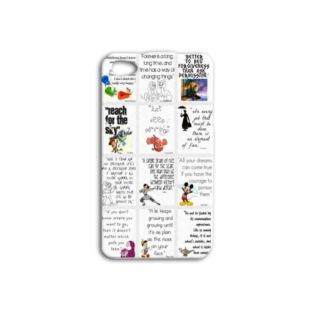 Famous Disney Quotes Cute Adorable Case iPhone iPod Cover White Cool Funny Fun
