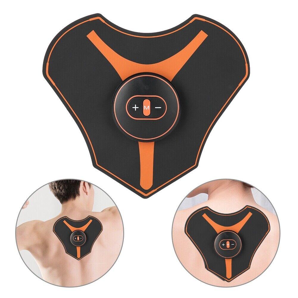 electric ems neck back cervical massager muscle