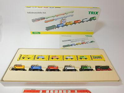 Aq804-1 # Schiebetrix/trix 1:180 11430 Set 40 Anni Minitrix: Locomotiva Diesel Sangue Nutriente E Regolazione Dello Spirito
