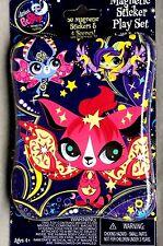 Littlest Pet Shop! Magnetic Sticker Play set w/ Tin Moonlite Fairies
