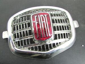 *FRP* FREGIO PLASTICA METALLIZATA FIAT 600 D 750 MASCHERINA mask plastic