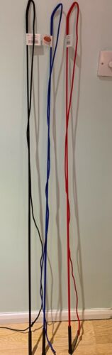Saddle Craft  5ft Lunge Whip Training Lunging Red Blue Or Black
