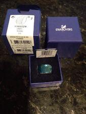 SWAROVSKI Indc Aqua Petite Nirvana Statement RING  1103229 Size 7/55