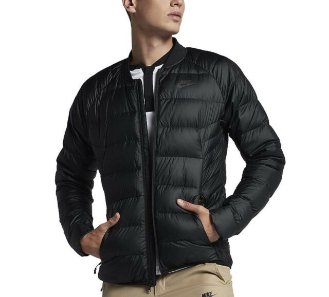 a87a7eac7367 Size Small Mens Nike Sportswear Guild Down Packable Jacket Black (866029  010) for sale online