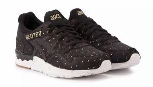 scarpe Lace Asics Lyte V da Eu Womens Nero ginnastica Gel 37 Up qqXB70